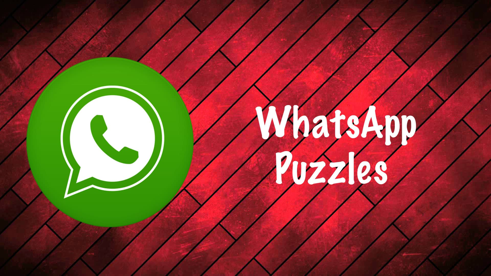 whatsapp-puzzles